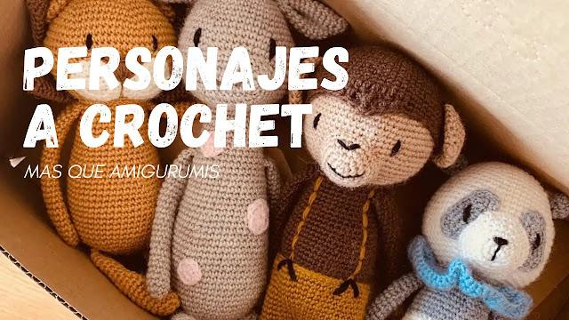 Personajes a Crochet - Más que Amigurumis
