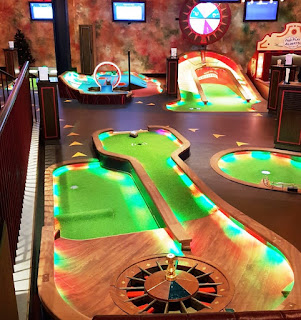 There's a new Puttshack indoor Crazy Golf course opening in London this December