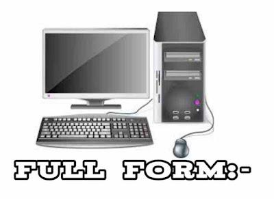 Computer Ka Full Form Kya Hai.
