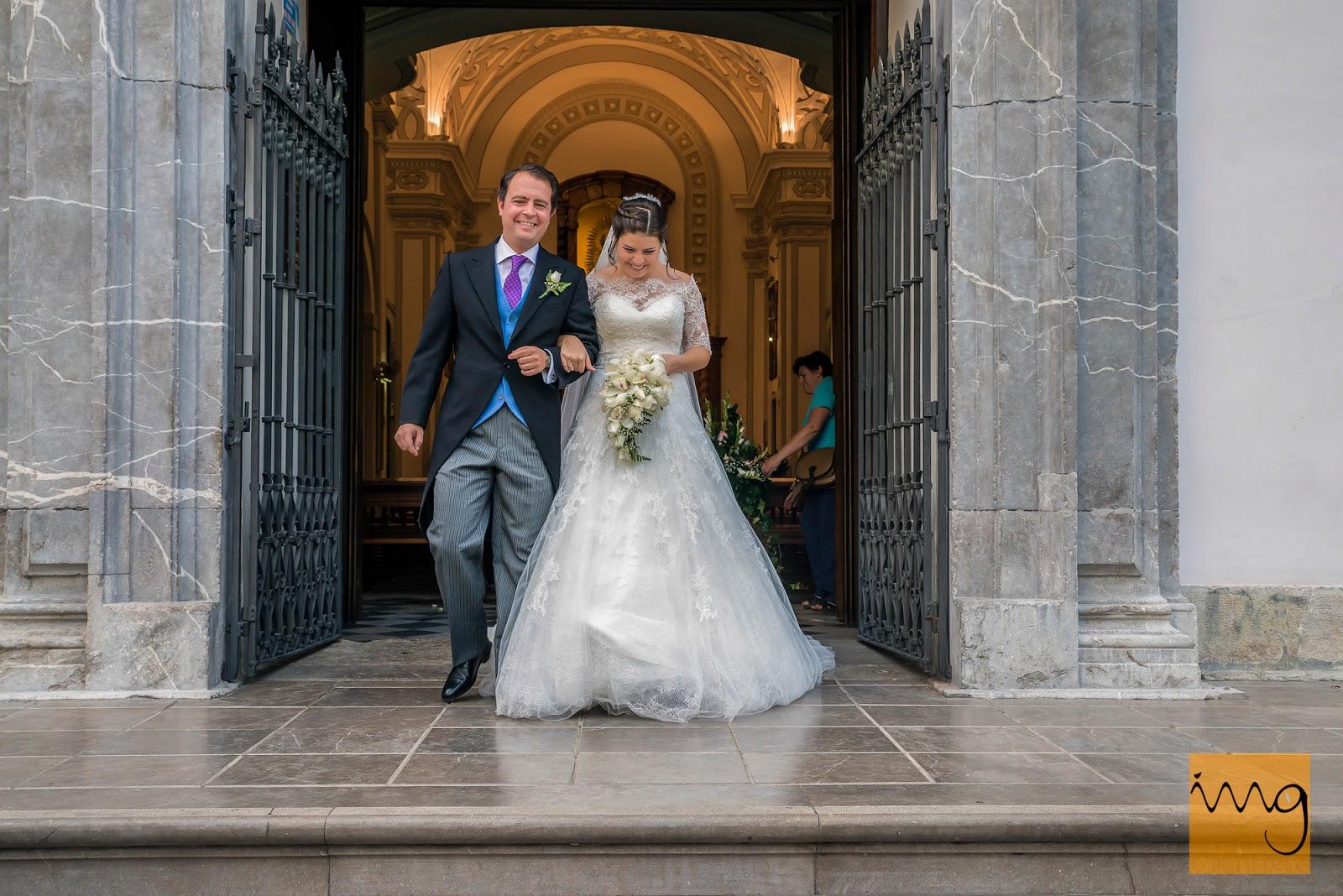 Fotografía de boda, la salida