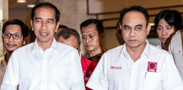 Kabinet Jokowi-Maruf Diumumkan, Relawan Projo Bubar