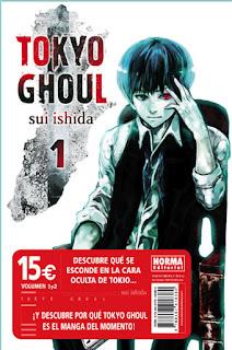 PACK TOKYO GHOUL 1 Y 2  Manga de Sui Ishida tokyo ghoul en la wikipedia Reseña de este pack de Tokyo Ghoul desde Norma Editorial