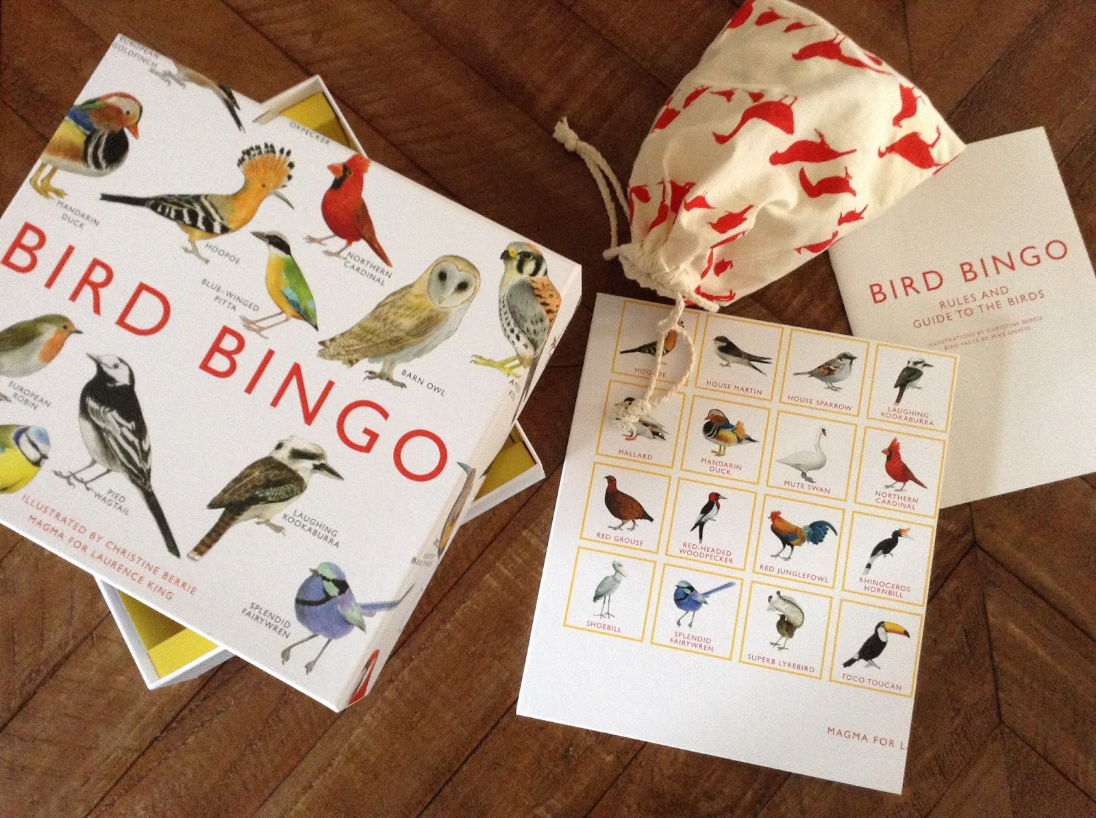 bird bingo game