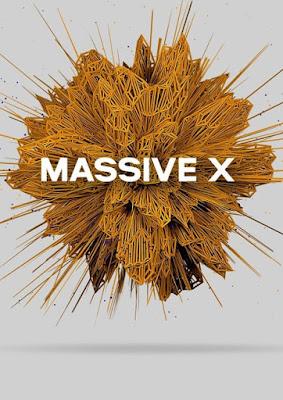 Cover do plugin Native Instruments - Massive X