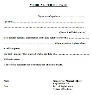 Download Latest COVID 19 Fit Medical Certificate Template