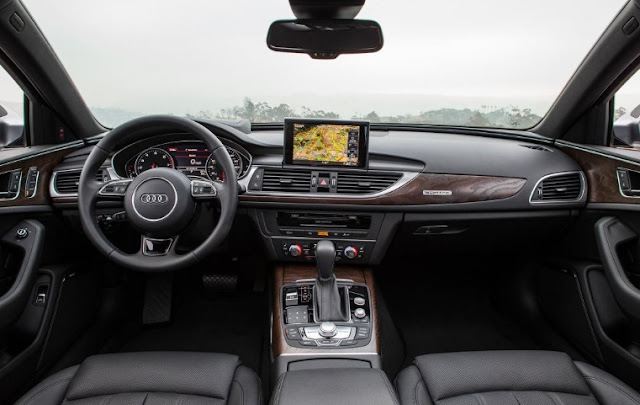 2016 Audi A6 3.0T Review interior