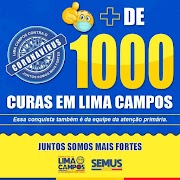 Lima Campos comemora mais de mil pessoas curadas da Covid-19