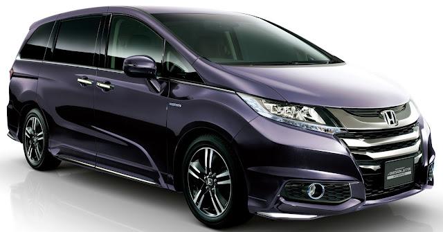 Desain Eksterior Honda Odyssey