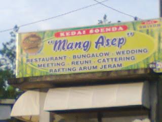 Kedai Soenda Mang Asep (Rumah Makan Multifungsi)