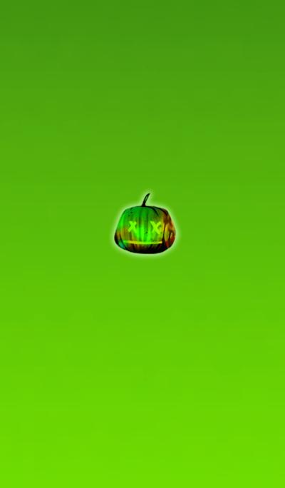 Halloween icon light green