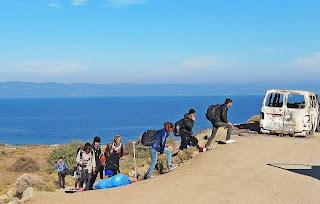 ارتفاع,نسبة,اللاجئين,المتوجهين,نحو,أوروبا