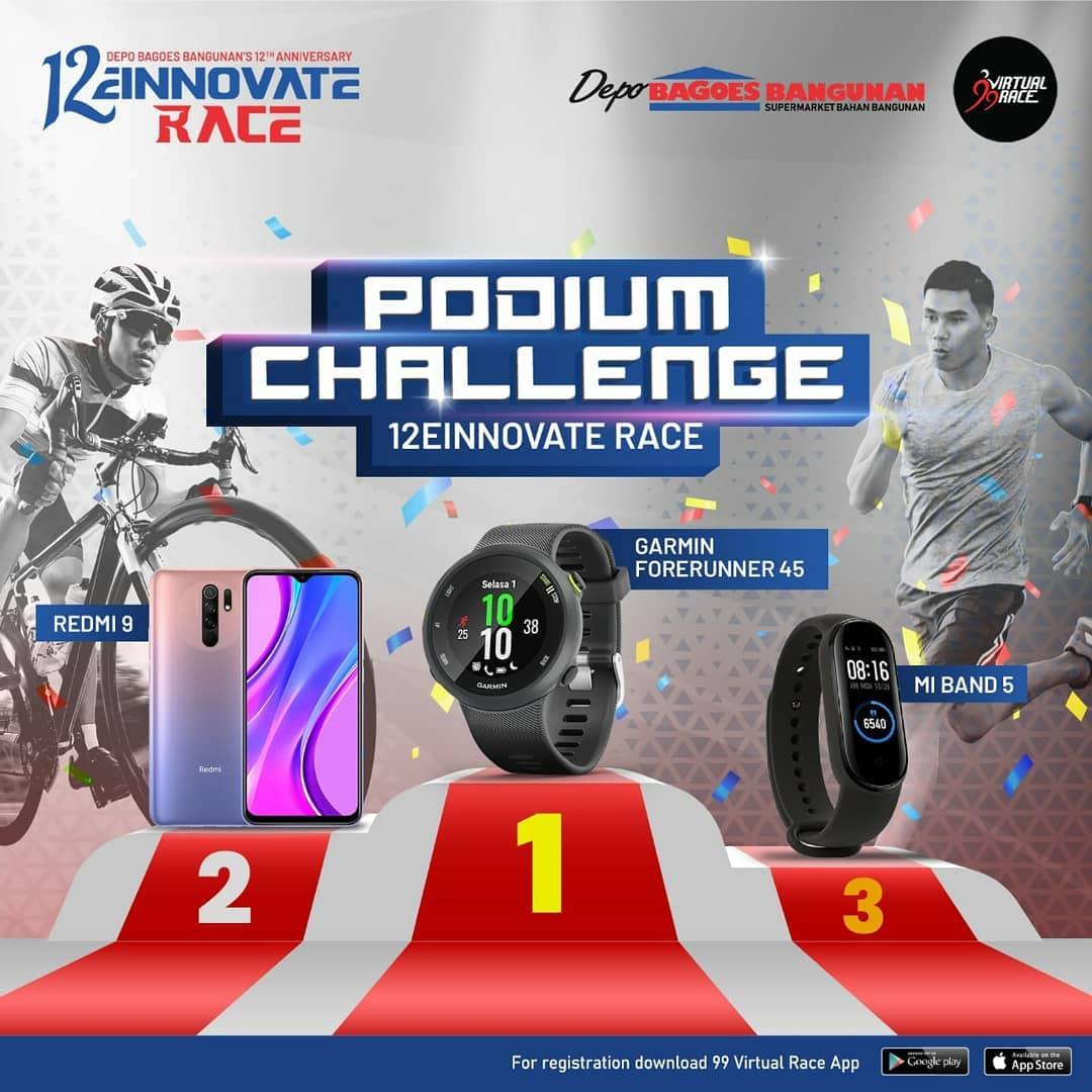 Podium � 12einnovate Race • 2021