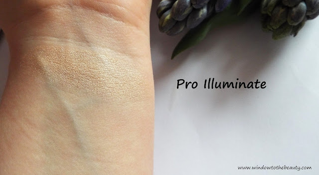 Pro Illuminate swatch i recenzja