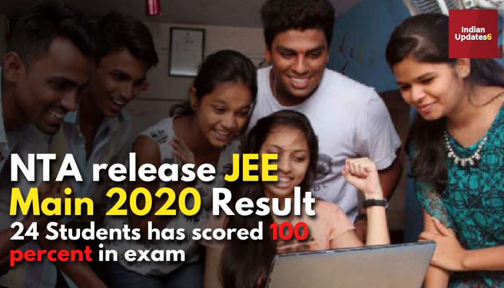 JEE (Main) Exams 2020 result