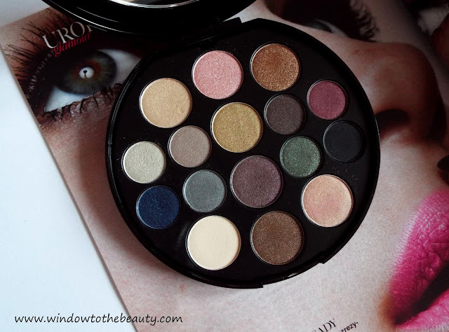 Elizabeth Arden The World Of Color Palette Swatches & Review