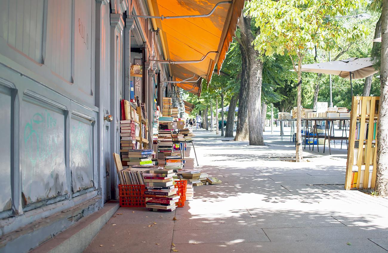 Madrid librerías segunda mano