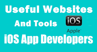 Websites and Best Tools for iOS App Developers and Designers