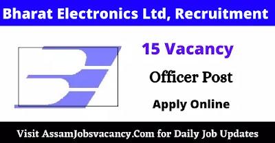 Bharat Electronics Limited Recruitment 2021