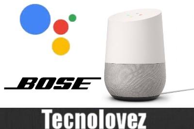 Come utilizzare l'Assistente Google con i prodotti smart Bose