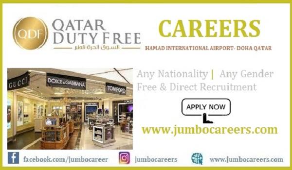 Qatar Duty Free Jobs 2021 | Latest QDF Qatar Government Careers