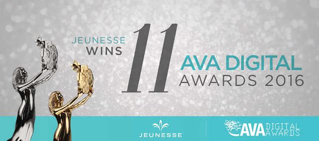 jeunesse wins 11 AVA digital awards 2016