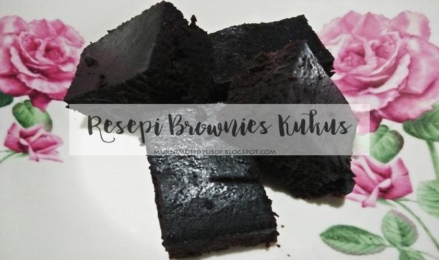resepi brownies kukus