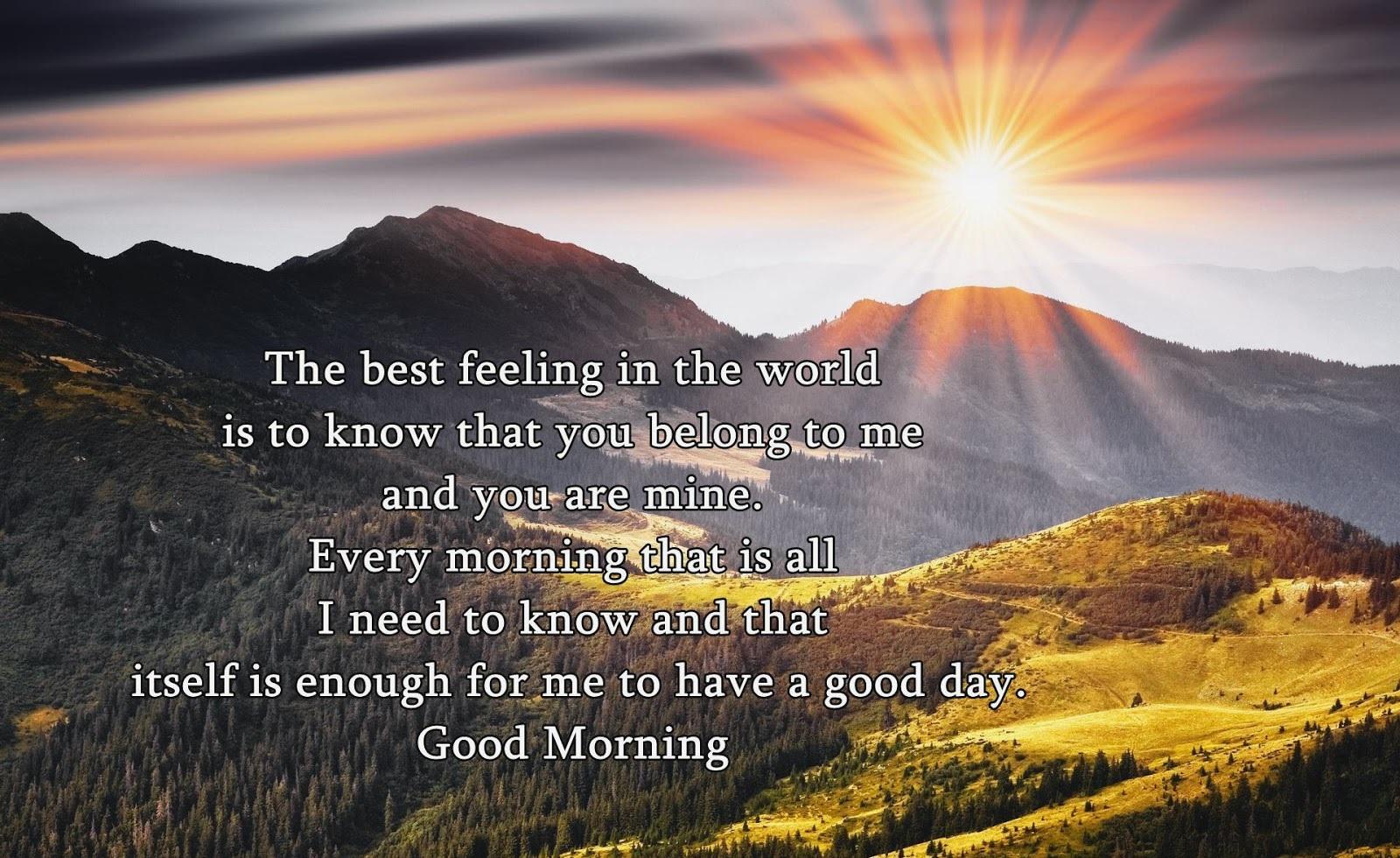 Good Morning Quotes English Quotes Shayari Express