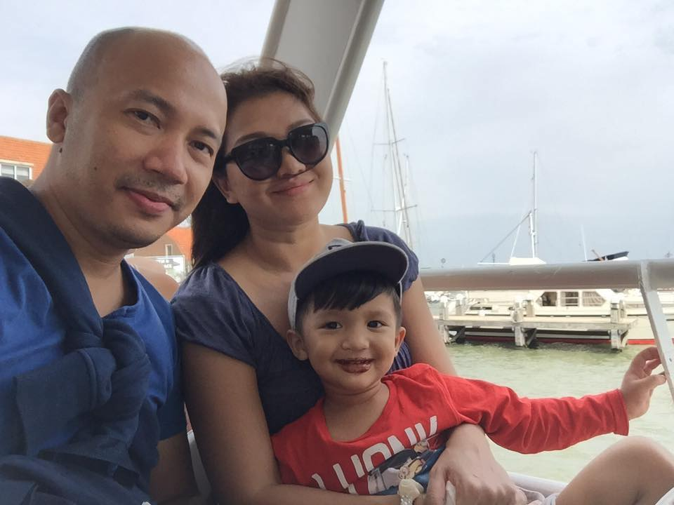 Thet Mon Myint and Her Family Trip To Europe