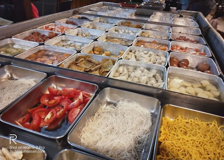 Buffet Steamboat Halal Murah Lumut