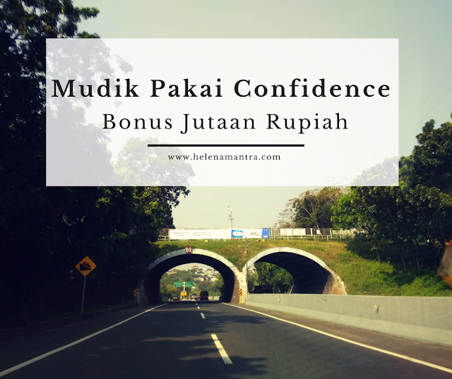 Confidence kesayangan berhadiah