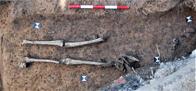 Remains of Anglo Saxon woman and jewels discovered at university campus in Canterbury