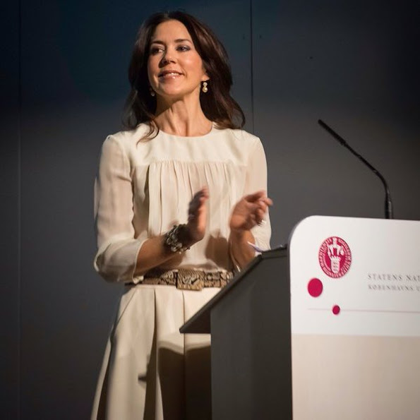 "Crown Princess Mary of Denmark attends the official opening of ""2016 Danish Research Festival"