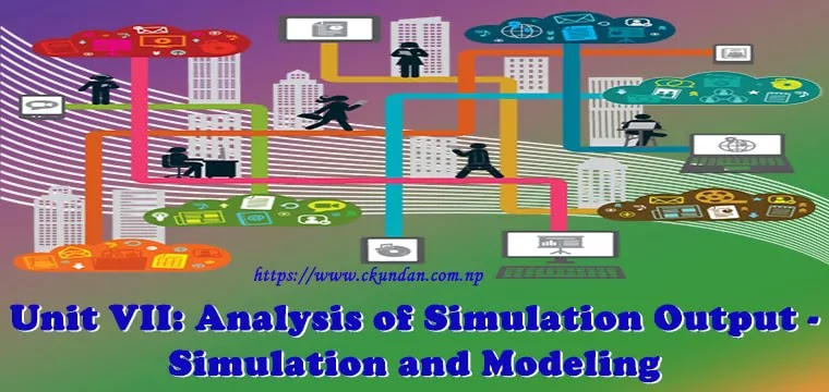 Analysis of Simulation Output - Simulation and Modeling