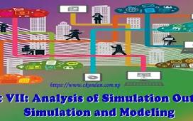 Unit VII: Analysis of Simulation Output - Simulation and Modeling