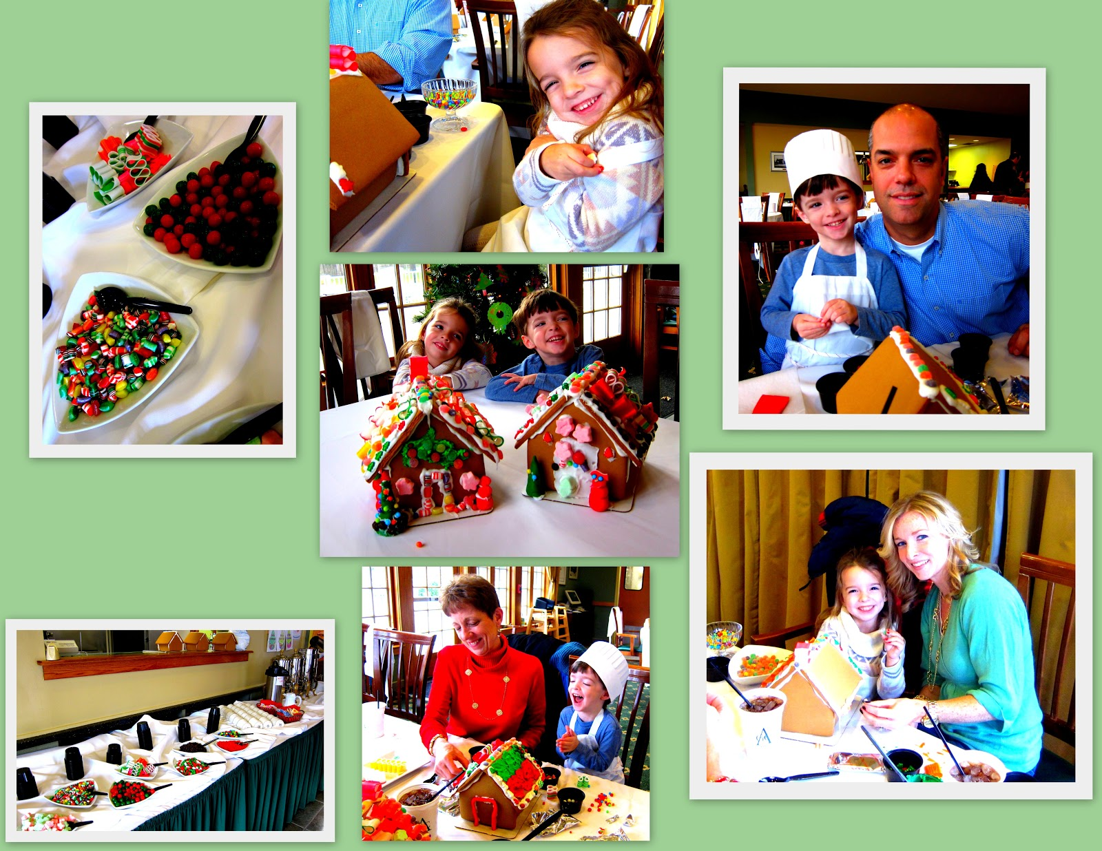 Cooking with kids, Crafts with kids, making gingerbread houses with kids