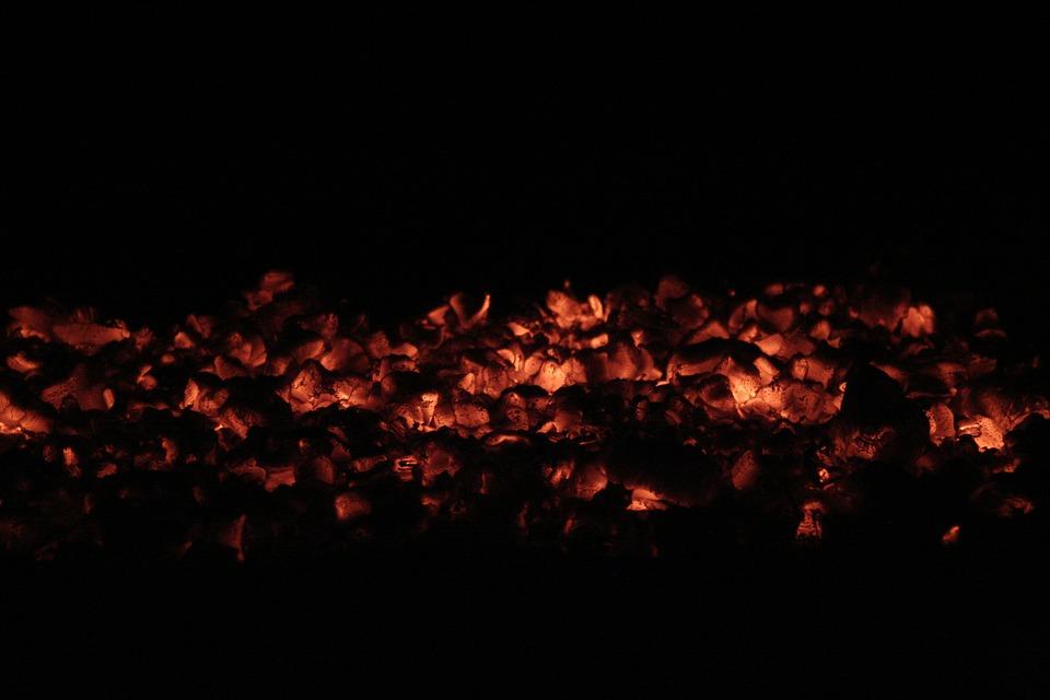 cuello ardiendo