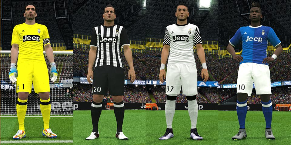 PES 2016 Juventus 16/17 Leaked Kits by IDK | Goblin Game