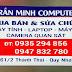 Địa chỉ sửa máy tính tận nhà ở Quy Nhơn - Bình Định