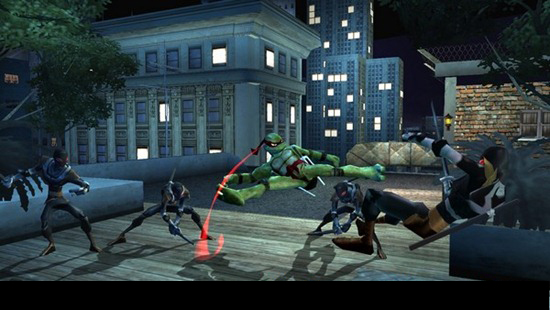 Teenage Mutant Ninja Screenshots