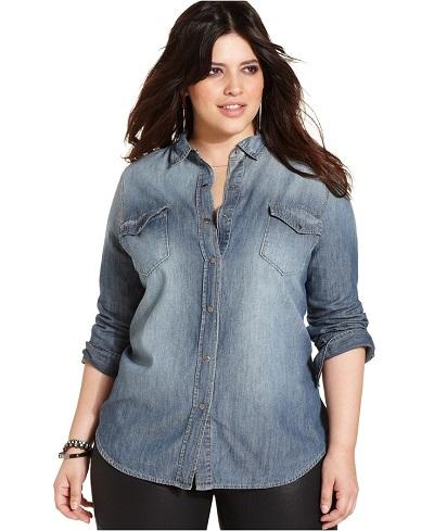 model pakaian wanita gemuk