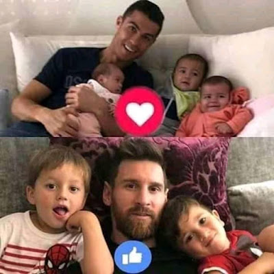 SELECT ONE FAMILY...#MESSI #RONALDO
