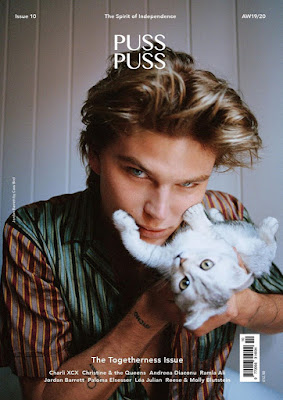 Jordan Barrett is the Cover Star of Puss Puss Magazine AW19.20 Issue