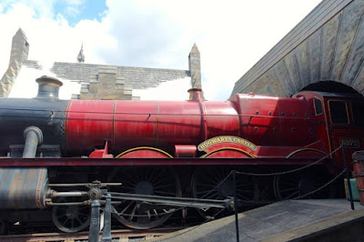 Hogwarts Express in Universal Studios Japan