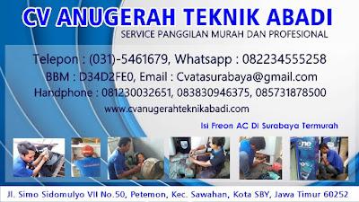 Isi Freon AC Di Surabaya Termurah