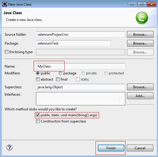 Java class name