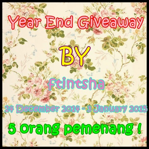 Year End Giveaway by Ftintsha