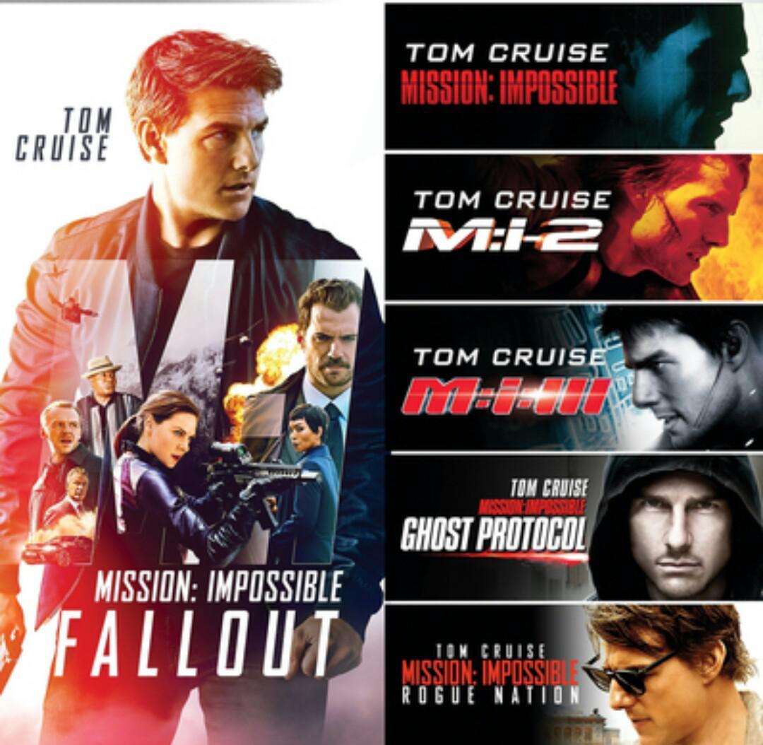 سلسلة افلام المهمة المستحيلة Mission Impossible