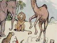 Dongeng Kisah Monyet dan Unta Peniru