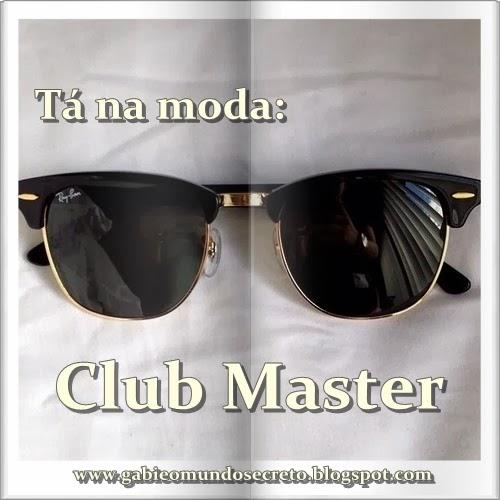 2310c1bc6ee78 Como vocês que são antenadas na moda sabe, o óculos club master antigo  brownline glasses voltou e tá virando febre no mundo todo. É um óculos com  aparência ...