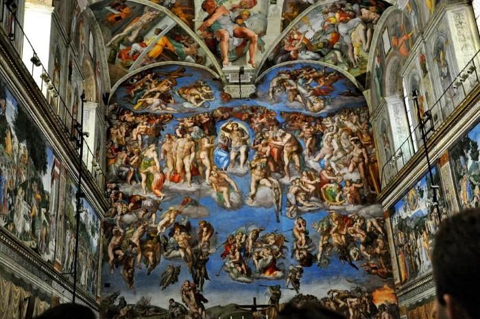 1541г. Микеланджело